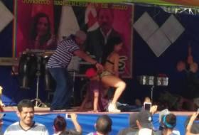 La campaña del Presi Daniel en Jinotepe es más Sexy