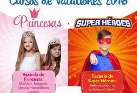 Porque las niñas nacieron para ser princesas y los niños super-héroes ¿Verdad?