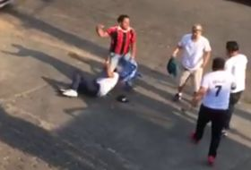 El video viral del pleito entre fans del Real Madrid y el Barcelona (sí, fue en Nicaragua)