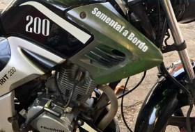 El Ganado puede andar en moto?