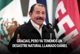 """Desastre Natural """"Daniel"""" Vs. Daniel """"El Masacrador de niños"""" Ortega. Los batracios están confundidos"""