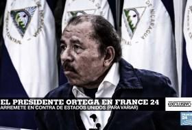 Otra entrevista donde Daniel Ortega convence al mundo que él no es asesino. Es que le tienen envidia
