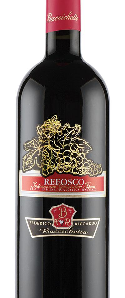 Refosco dal peduncolo rosso IGT - Federico e Riccardo Baccichetto - Roncadelle