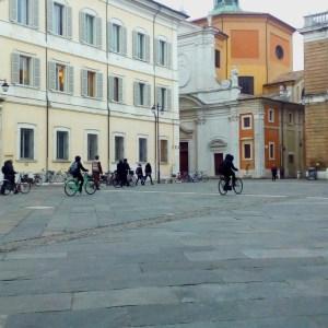 Ravenna-Piazza del Popolo- Performance16- Onico Giannetta