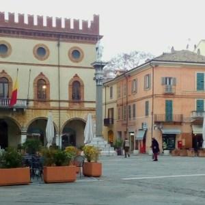 Ravenna-Piazza del Popolo- Performance22- Onico Giannetta