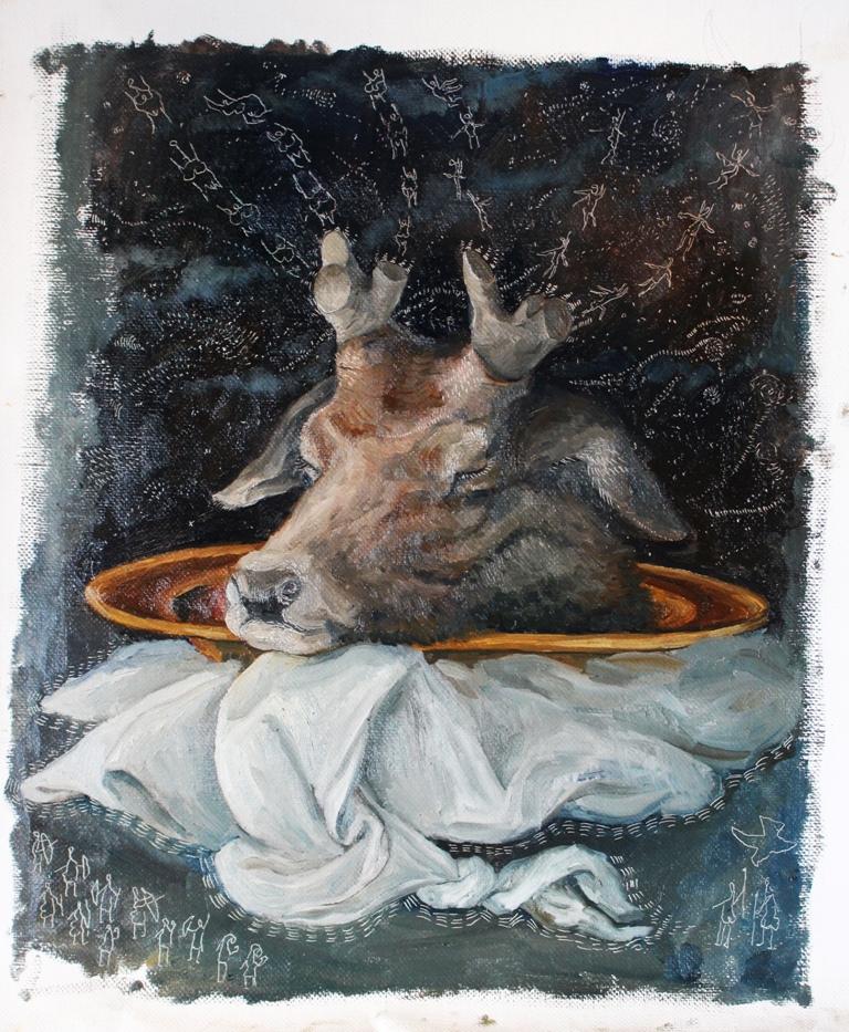 Bacco Artolini - Panneggio Obsolescente n° 3 - Cervus Dei