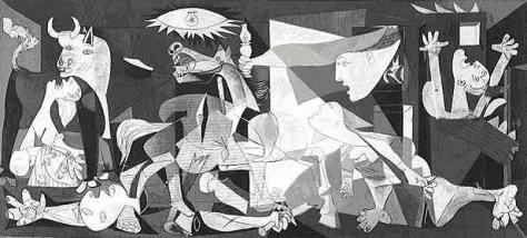 PICASSO, Guernica, Paris 1937