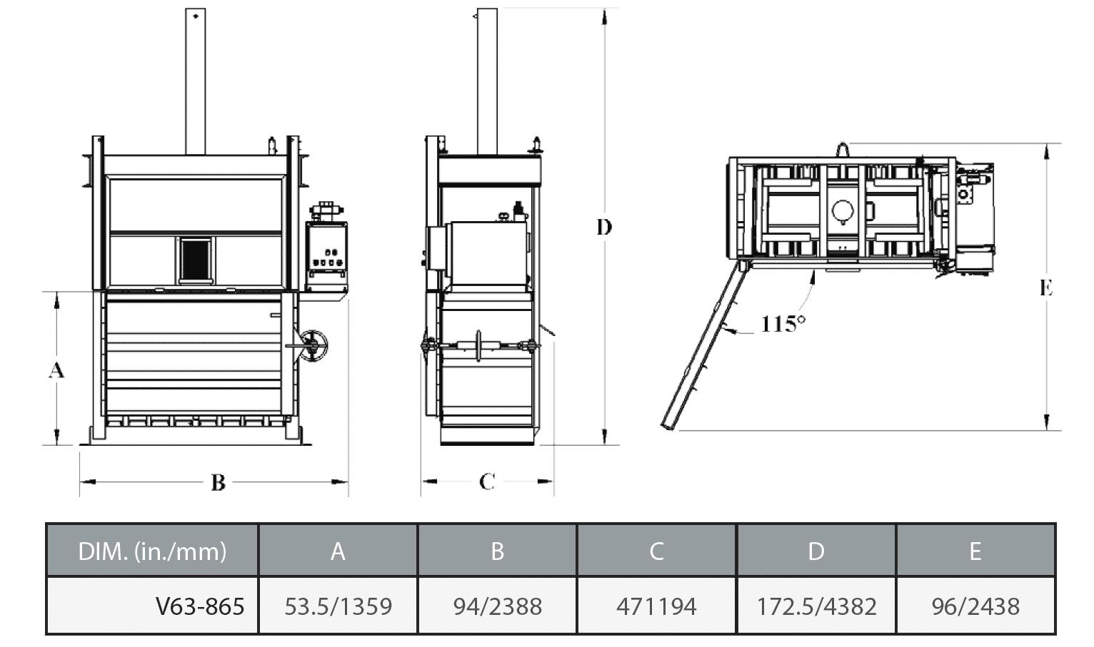 V63 865 Bace