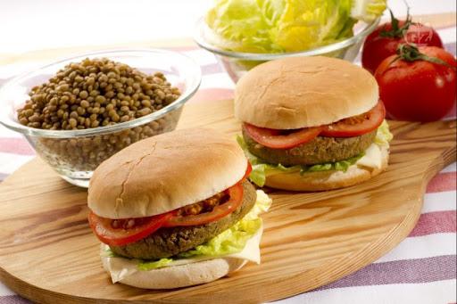 la ricetta per gli hamburger di lenticchie