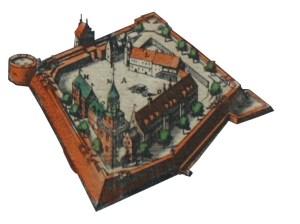Silhouette-Schloss - Kopie