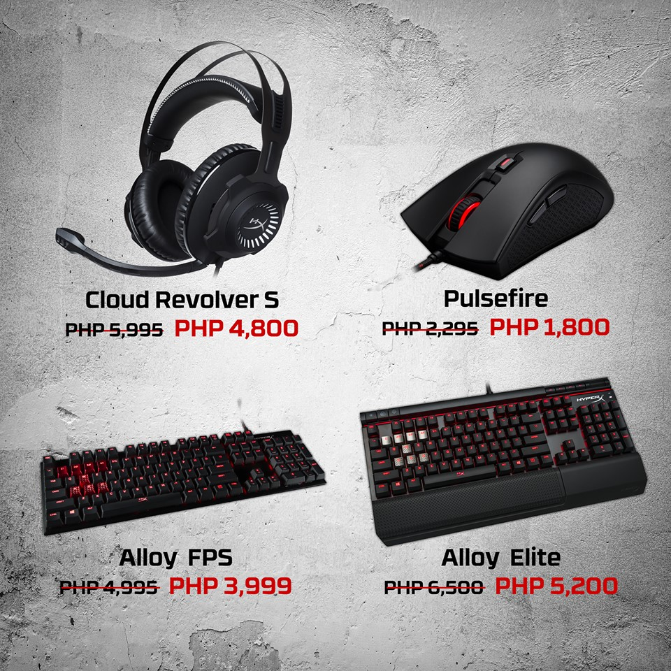 Great Deals You Wouldnt Want To Miss On Esgs 2017 Back2gaming Steam Wallet Code 5 Bundle 20pcs Hyperx Has A Lot Going Around With Their Peripheral Sale Starting From Mice All The Way Headsets They Also Have Bundles If Youre Looking Get Nice