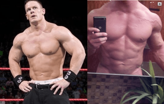 Wwes Wrestling Star John Cena Posts Nearly Naked Pic On Twitter-6403