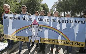 kiev gay pride march