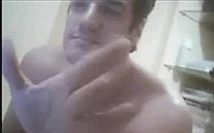 Carlos Machado naked jerking off
