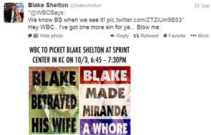 Blake Shelton WBC