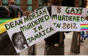 Jamacia Protest
