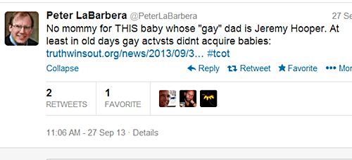 Peter LaBarbera asshole