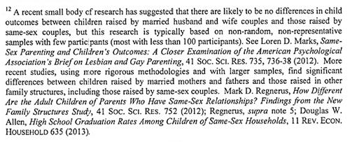 Regnerus study texas