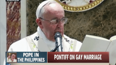 Pope Francis Hates Gays