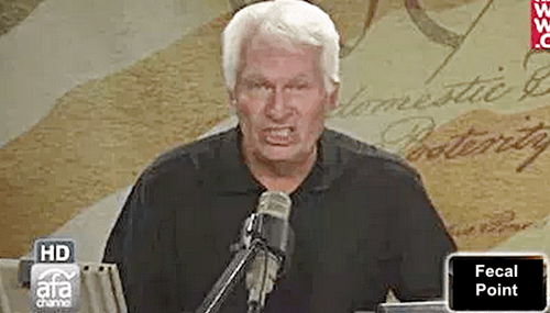 AFA Hate Group's Bryan Fischer: Gays Are Bringing Back Slavery By Forcing Us To Serve Them