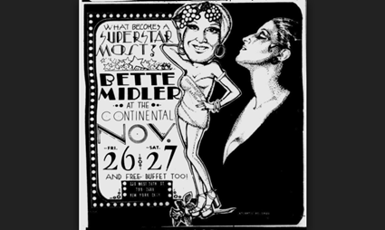 WATCH Bette Midlers Final Performance at the Continental Baths