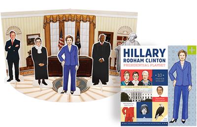 Hillary Rodham Clinton Presidential Playset