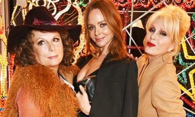 Patsy,Edina, and Stella McCartney
