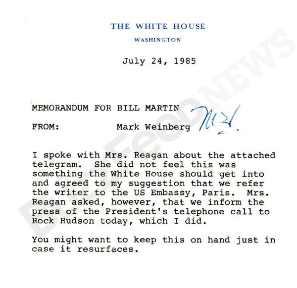 Nancy Reagan AIDS