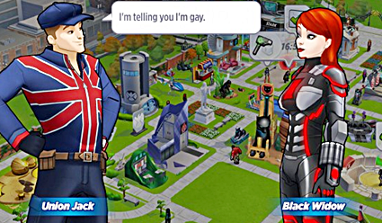 Marvel Avengers Academy Mobile Game Introduces Gay Character Union Jack