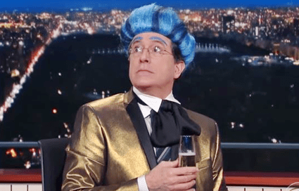 Stephen Colbert Crashes RNC