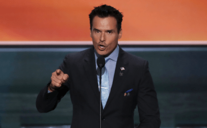 Antonio Sabato Jr Hollywood Has Blacklisted Me Becuase I Endorsed Donald Trump