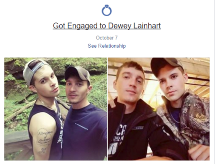 Dewey Lainhart and Cody Moore