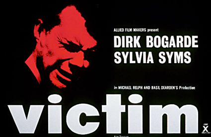 "FLASHBACK 1962: TIME Magazine Blasts UK Gay Classic ""VICTIM"" Calls It A ""Plea for Perversion"""
