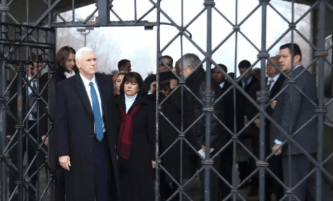 VP Mike Pence Visits Dachau Nazi Concentration Camp In Germany, Makes No Formal Comment