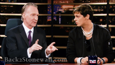 "WATCH: The Milo Yiannopulos Train Wreck on Real Time with Bill Maher: ""Milo Go Fuck Yourself"" - Video"