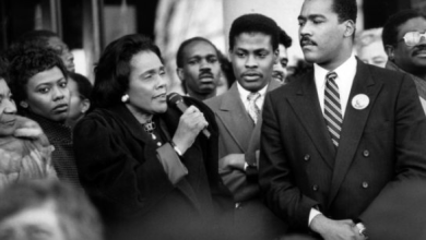 """Gay History - March 31, 1998 Coretta Scott King: """"Homophobia Is Like Racism and Anti-Semitism"""""""