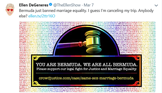 Bermuda Supreme Court Strikes Down Gay Marriage Ban