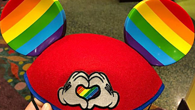 Disney Starts Selling Rainbow Pride Mickey Mouse Ears!