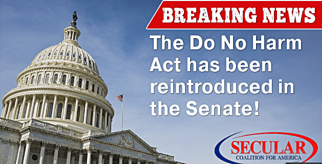 Democrats Introduce Bill To Amend the Religious Freedom Restoration Act to Protect LGBT Americans