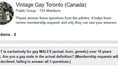 Gay Male Facebook Group Refuses to Accept Trans Men