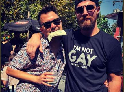 Arrow Star Stephen Amell Gets Attacked by SJW's Over T-Shirt at PRIDE