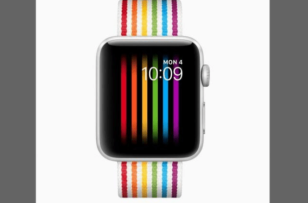Apple Watch Gay Rainbow Pride Face Display Disabled in Russia