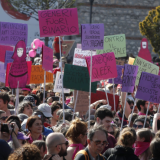 Over 30,000 Protest Anti-LGBT World Congress Of Families Meeting In Italy