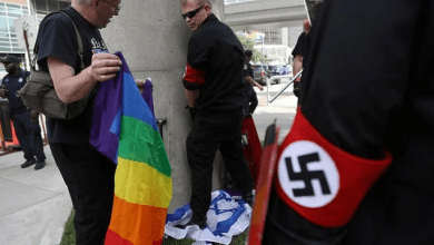 Armed Neo-Nazis Protest At Detroit Pride Festival