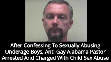 Pastor at Alabama Anti-LGBT Baptist Church Arrested for Molesting Multiple Underage Boy