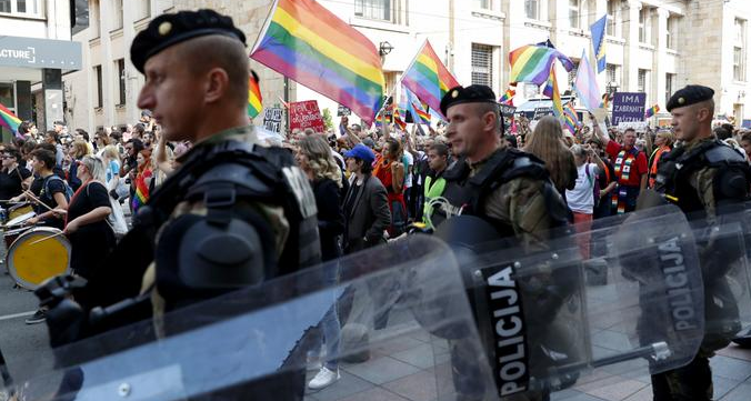 Thousands March in Sarajevo, Bosnia's First Gay Pride Parade
