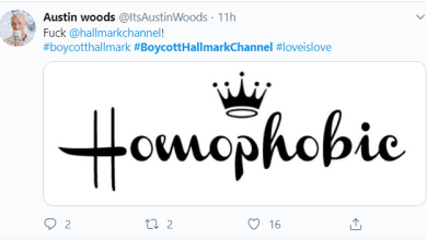 Hallmark Channel Faces Huge Backlash After Pulling Same Sex Wedding