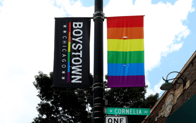 """Chicago's Gay Historic """"Boystown' Neighborhood Now To Called """"Northalstead"""" To Be More Inclusive"""
