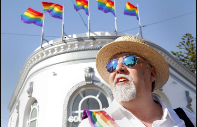 Queer Activist Want To Remove Gilbert Baker's LGBT PRIDE Flag from Harvey Milk Plaza in San Francisco