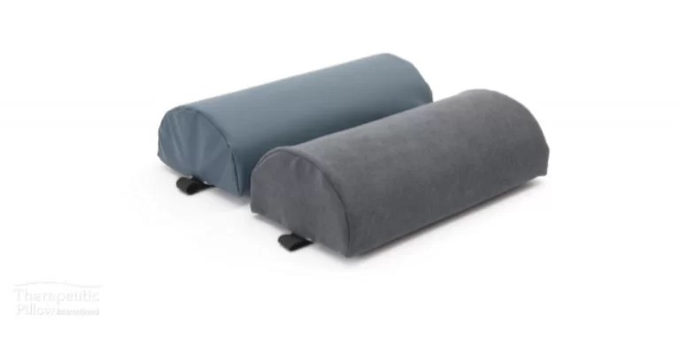 spine saver lumbar roll chiropractic back support pillow traditional foam